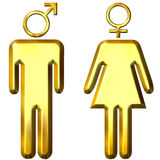 Male and Female Royalty Free Stock Photo