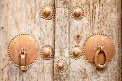 Male and female antique drawer door handle Stock Photography