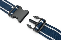 Male and female buckles Stock Photography