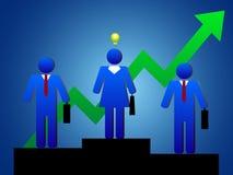 Busines people idea Stock Photography