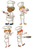 Male and female chefs Royalty Free Stock Image