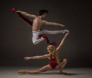 Male and female dancer Royalty Free Stock Images