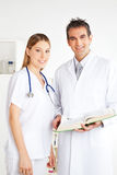 Male and Female Doctor, Portrait Royalty Free Stock Photo
