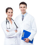 Male and female doctors Royalty Free Stock Images
