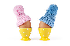 Male female eggs Easter Royalty Free Stock Photo