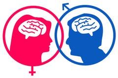 Male female gender Stock Photo