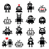 Male and female robot, Artificial Intelligence Royalty Free Stock Photo