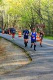 Male and Female Runners in the 2021 Blue Ridge Marathon