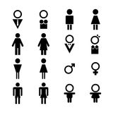 Male and Female Sign Royalty Free Stock Photo