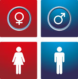 Male & female sign Stock Image