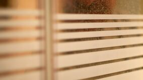 Free Male Figure Peering Through Window Royalty Free Stock Images - 179925899
