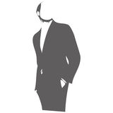 Male figure vector illustration Royalty Free Stock Images