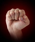 Male fist Stock Photography