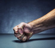 Male fist Royalty Free Stock Image