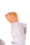 Male fists. Closeup. Stock Photography