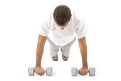 Male Fitness Royalty Free Stock Images