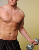 Male fitness stock image