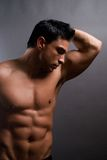 Male fitness model Royalty Free Stock Photography
