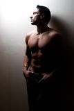 Male fitness model Royalty Free Stock Images