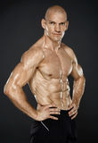 Male fitness model Stock Photography