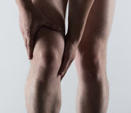 Male foot pain Royalty Free Stock Photos