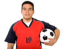Male footballer Stock Photography