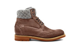 Male footwear-43 Stock Images