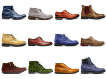 Male footwear collection-1 Royalty Free Stock Images