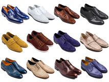 Male footwear collection-2 Royalty Free Stock Image