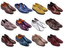 Male footwear collection-3 Stock Photos