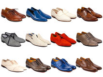 Male footwear collection-4 Stock Images