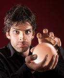 Male Fortune Teller Royalty Free Stock Photos