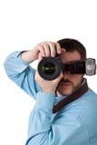 male fotograf Fotografering för Bildbyråer