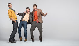 Male friends having fun Stock Photo