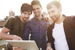 Male friendship Stock Photos