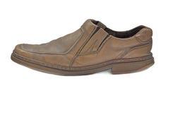 male gammal sko Royaltyfri Fotografi