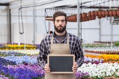 Male Garden Worker Stock Photo