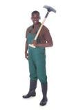 Male gardener with shovel Stock Image