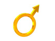 Male gender sign Royalty Free Stock Photos