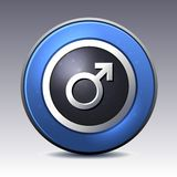Male gender symbol Stock Image