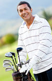Male golf player Royalty Free Stock Photos