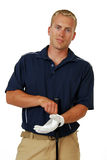 Male Golfer Stock Photography
