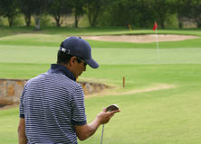 Male golfer 2 Stock Images