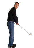 Male Golfer Royalty Free Stock Photos