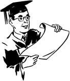 Male Grad Stock Image
