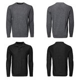 Male gray sweater Royalty Free Stock Photo