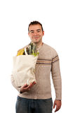 Male Grocery Shopper Royalty Free Stock Image