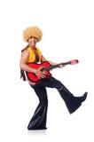 Male guitar player Stock Photos