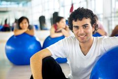 Male at the gym Stock Photography