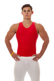 Male Gymnast Stock Photography